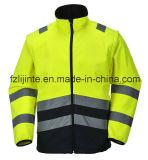 Высокая видимость безопасности Workwear куртка с светоотражательная лента