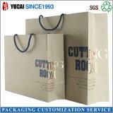Saco de papel grosso saco de papel comercial de luxo