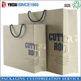 Bolsa de papel de tiendas de lujo al por mayor bolsas de papel