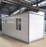 Stong 강철 구조물 가족을%s 1개의 침실 1 목욕탕 1 거실 1 부엌을%s 가진 모듈 콘테이너 집