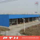 Estructura de acero prefabricada del palmo grande para el almacén