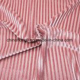 Velluto P/Sp 90/10, tessuto di lavoro a maglia brillante di Brused del tricot per Wear della signora