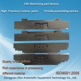 De techniek Plastic Zwarte POM past Automatisch CNC Machinning van de Machine Deel aan