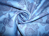 Druck-Linon-Garn gefärbtes Jacquardwebstuhl-Streifen-Gewebe für Frauen-Kleidung