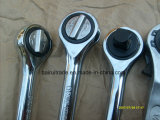 Doppeltes Scales Rachet Head Adjustable Torque Wrench Spanner mit Grip