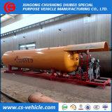Фабрика продавая Скид-Установленную LPG станцию скида завода газа 20t 40m3 40000L LPG