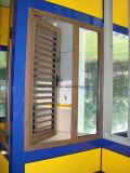 Ручное алюминиевое окно жалюзиего