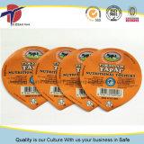 Or Membre de l'exportation imprimés Couvercle en aluminium pour le yaourt tasses