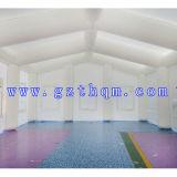 tente gonflable d'usager de tente gonflable géante de 10m*7m/tente claire gonflable de dôme