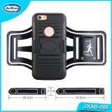 iPhone 6のための腕章の箱を実行する黒いカラー携帯電話のアクセサリの動揺のスポーツ