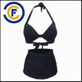 Neue Art-Form-reizvolle reine Farben-Bikini-Dame Swimwear