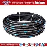 """1/2"""" fios de aço de qualidade superior entrelaçando a mangueira hidráulica"""