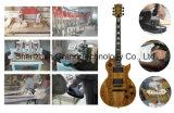 灰ボディ(GLP-550)が付いているボディエレキギターを通した雲のギターの首