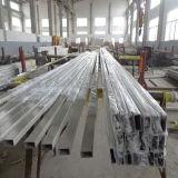 Tubulação sem emenda quadrada de aço 304 inoxidável