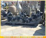 화강암 동물성 조각품 금붕어 동상