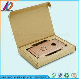 Caixa de telefone móvel de Papelão Ondulado personalizados com elemento de papel