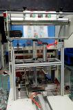 Empaquetadora que encoge de aislamiento de la funda automática con el tubo del tubo de la calefacción del acero inoxidable para la película laminada compleja del PVC POF PP del PE