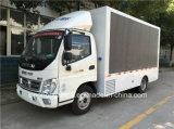 Foton Ollin 4X2 P8 levou caminhão, caminhão publicidade LED, LED pequeno veículo móvel para venda