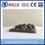 Embase pour le chemin de fer courant et le chemin de fer à grande vitesse