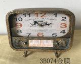 Рекламные Accent Китая оптовые металлический стол металлической часы