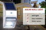 Indicatore luminoso 2016 del sensore solare del LED per esterno