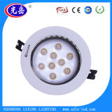 Alta luz de techo de interior de las luces 3With5With7With9With12With15W/LED Downlight/LED de Lumes LED con Cr/RoHS