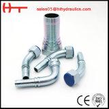 Adaptateur de tube hydraulique de réducteur avec la noix d'émerillon (2D. 2D-RN)