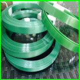 12mm * 0.5mm 20kg Verde poliéster PET correas