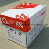 Papel de copia blanco de madera de la pulpa 70g A4 del 100% para la oficina