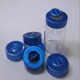 Glass Vial를 위한 Rubber Stopper를 가진 색깔 Metal Aluminum Plastic Cap