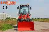Циндао Everun 0,8 тонн передней типа мини-колесный погрузчик