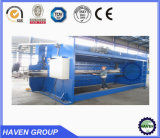 Hydraulic metal plate bending machine, hydraulic press brake, bend capacity
