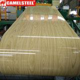 Série 3000 Aluminium prépeint céréales en bois de la bobine en aluminium