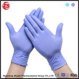 Медицинские перчатки рассмотрения скорой помощи напудренные PVC