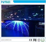 2 años de la garantía P10mm del vidrio de visualización de LED transparente a todo color