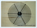 AC/DC 200mm acier inoxydable de protection de ventilateur