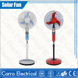 Factory Direct 16inch Solar Rechargeable Standing Fan CE-12V16h