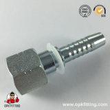 Norme hydraulique 24211 de l'Amérique d'embout de durites de portée plate femelle d'Orfs