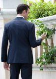 Высокое качество Bespoke портной укомплектовывает личным составом тонкие костюмы пригонки