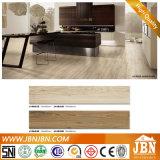 azulejo de suelo de cerámica esmaltado de madera de la inyección de tinta 3D (J15631D)