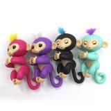 Los nuevos juguetes infantiles alevines dedo mono bebé táctil electrónica inteligente alcance creativo Spinner
