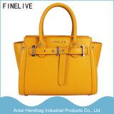 2017 Form gelbe PU-lederne Entwerfer-Handtaschen