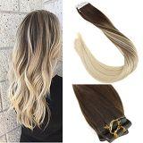 100% de cabelo humano fita na extensão de cabelo (AV-TP18-4/613)
