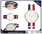 Relógio de nylon de quartzo do pulso do bracelete de relógio da cinta do estilo de Dw da forma (DC-7903)