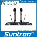 La diversité des microphones sans fil UHF Suntron