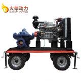 Haute qualité grand débit de gazole 75kw jeu de la pompe à eau