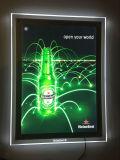 LED de alta qualidade caixa de luz de acrílico