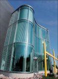 Tempered libero/vetro temperato di 22mm per la facciata della parete divisoria