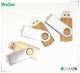 Schwenker hölzerner USB-Stock mit der vollen Kapazität (WY-W33)