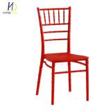 Resina direto de fábrica Chiavari Cadeiras Tiffany Hotel Casamento Cadeira de preço no atacado